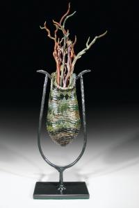 Twig Basket Green